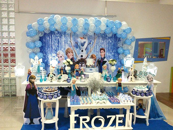 Decoração Frozen Em Sp Academia De Festas Pronto Final